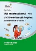 Müll ist nicht gleich Müll – von Abfallvermeidung bis zu Recycling